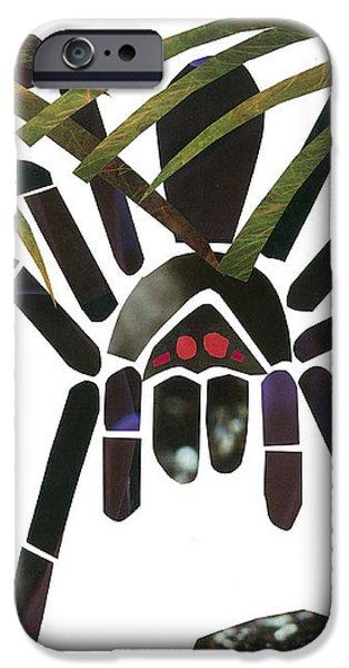 Tarantula iPhone Case by Earl ContehMorgan