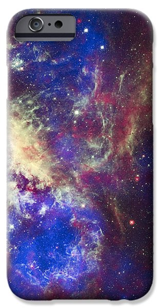 Tarantula Nebula iPhone Case by Adam Romanowicz