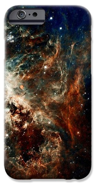 Tarantula Nebula iPhone Case by Amanda Struz