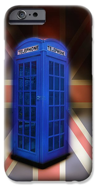 Dr Who iPhone Cases - Tardis iPhone Case by Bill Cannon