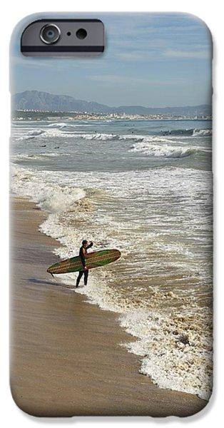 Luz iPhone Cases - Tarifa, Costa De La Luz, Cadiz iPhone Case by Ben Welsh