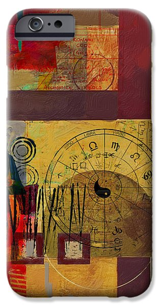 Esoteric iPhone Cases - Tarot Card Abstract 003 iPhone Case by Corporate Art Task Force