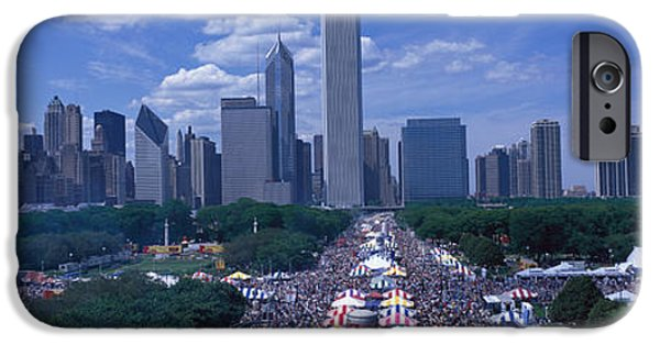 Annual iPhone Cases - Taste Of Chicago Chicago Il iPhone Case by Panoramic Images