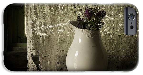 Interior Still Life iPhone Cases - Tattered iPhone Case by Amy Weiss