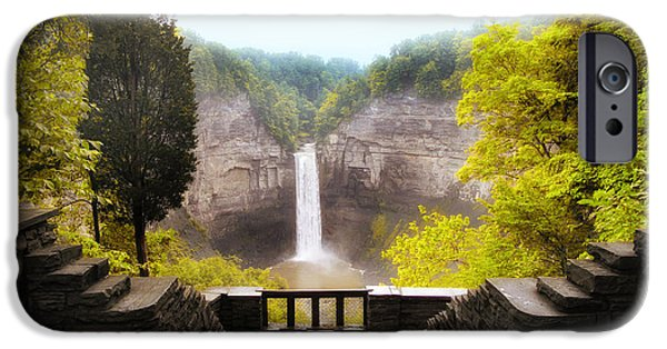 Taughannock Falls iPhone Cases - Taughannock Falls iPhone Case by Jessica Jenney