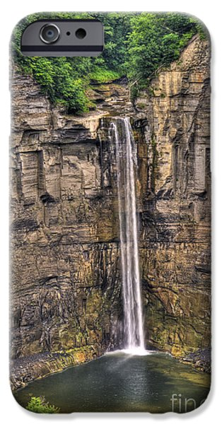 Taughannock Falls iPhone Cases - Taughannock Falls iPhone Case by Anthony Sacco