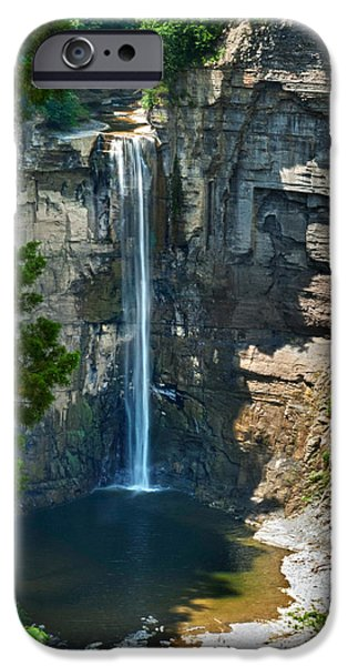 Taughannock Falls iPhone Cases - Taughannock Falls iPhone Case by Christina Rollo