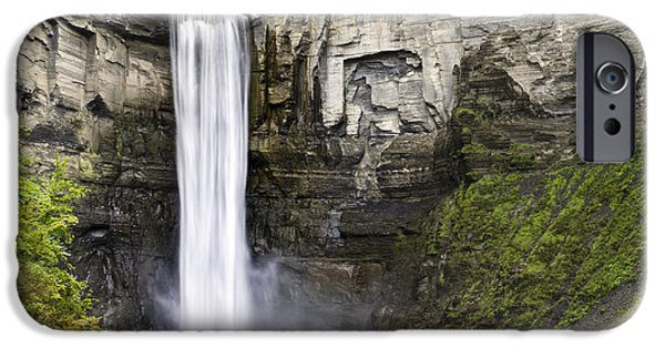 Taughannock Falls iPhone Cases - Taughannock Falls Gorge iPhone Case by Christina Rollo