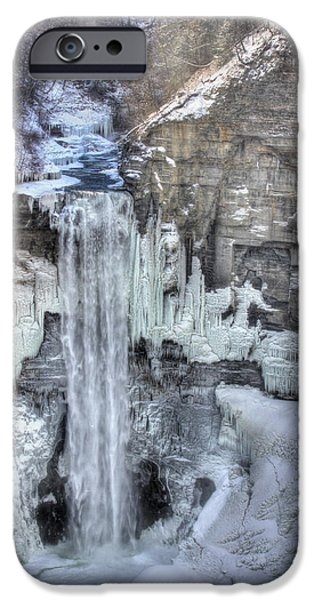 Taughannock Falls iPhone Cases - Taughannock Falls iPhone Case by Lori Deiter