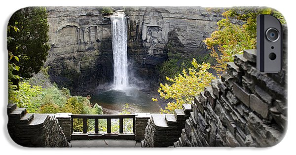 Taughannock Falls iPhone Cases - Taughannock Falls Overlook iPhone Case by Christina Rollo