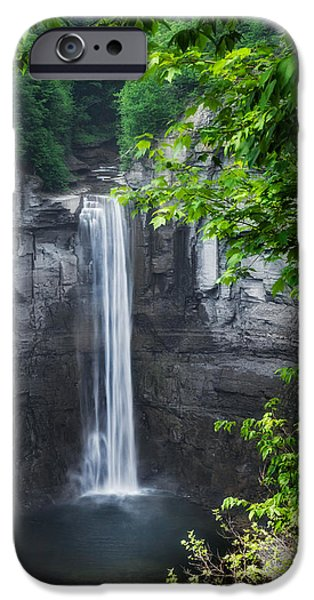 Taughannock Falls iPhone Cases - Taughannock Greens iPhone Case by Bill  Wakeley