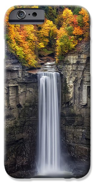 Taughannock Falls iPhone Cases - Taughannock iPhone Case by Mark Papke