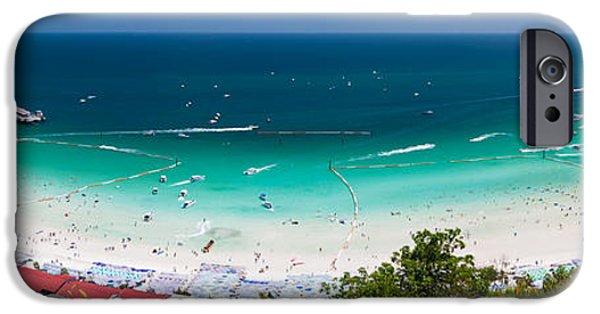 Ocean Panorama iPhone Cases - Tawaen Beach iPhone Case by Atiketta Sangasaeng