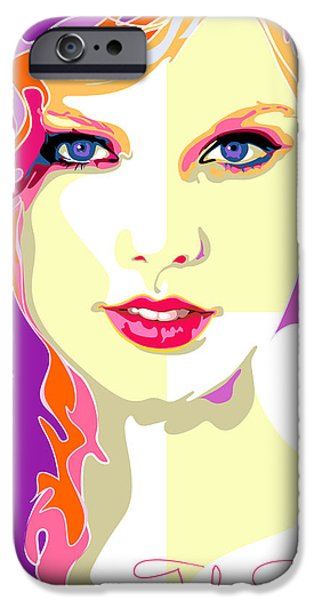 Taylor Swift iPhone Cases - Taylor Swift iPhone Case by Ahmad Nusyirwan