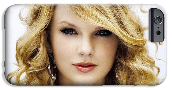 Taylor Swift iPhone Cases - Taylor Swift Collection iPhone Case by Marvin Blaine