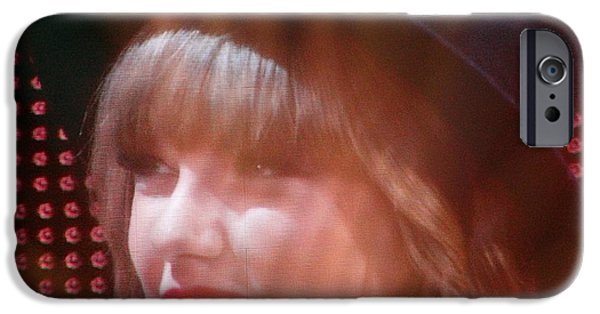 Taylor Swift iPhone Cases - Taylor Swift iPhone Case by Elizabeth Winter