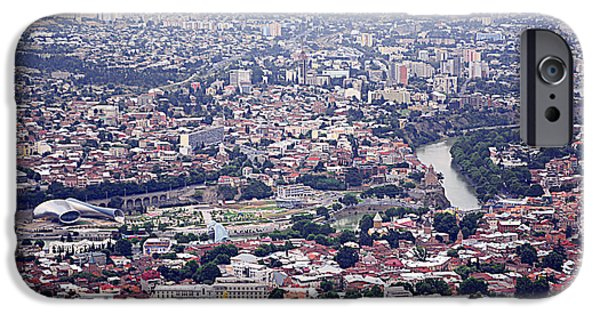 Tbilisi Photographs iPhone Cases - Tbilisi iPhone Case by Armine Yepremyan