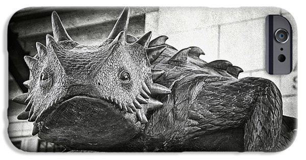 Frogs iPhone Cases - TCU Horned Frog 2014 iPhone Case by Joan Carroll