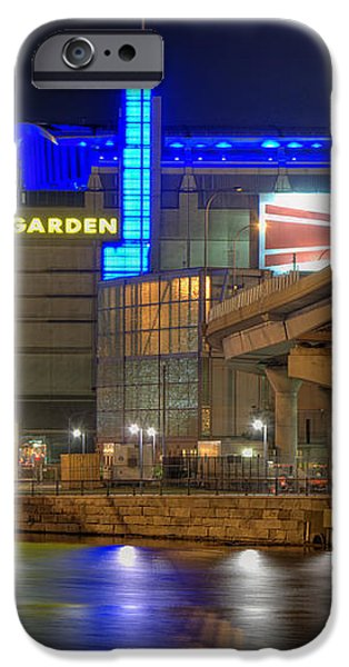 TD Garden - Boston iPhone Case by Joann Vitali