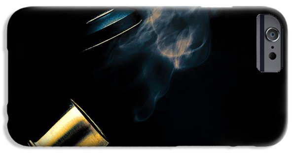 Boiled iPhone Cases - Tea For One Part Two iPhone Case by Bob Orsillo