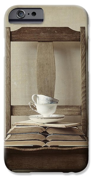 Interior Still Life iPhone Cases - Tea Tales iPhone Case by Amy Weiss
