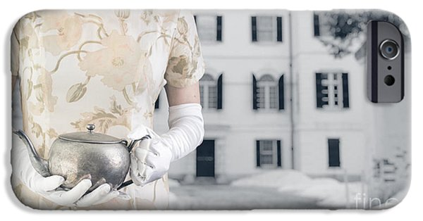Winter iPhone Cases - Tea Time iPhone Case by Edward Fielding