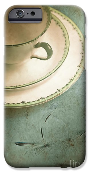 Bone iPhone Cases - Tea Time iPhone Case by Jan Bickerton
