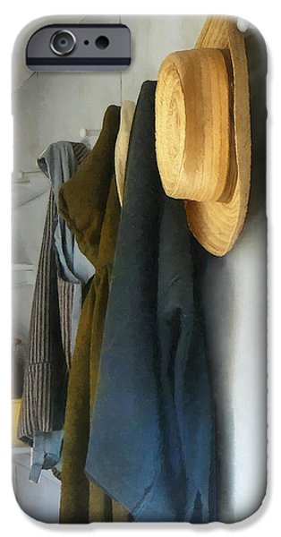 Teacher - Cloakroom iPhone Case by Susan Savad