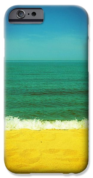 Teal Waters iPhone Case by Michelle Calkins