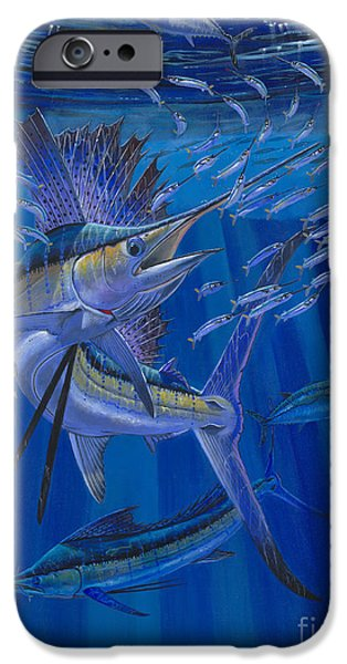 Islamorada iPhone Cases - Team Work Off0036 iPhone Case by Carey Chen