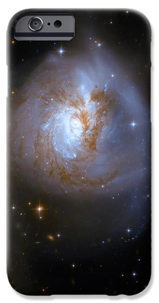 Tear Drop Galaxy iPhone Case by The  Vault - Jennifer Rondinelli Reilly