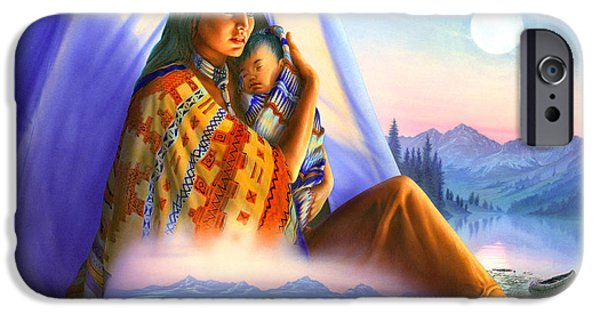 Meiklejohn Graphics - iPhone Cases - Teepee of Dreams iPhone Case by Andrew Farley