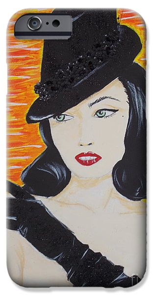 Glitter Glove iPhone Cases - Teese iPhone Case by C Alexia