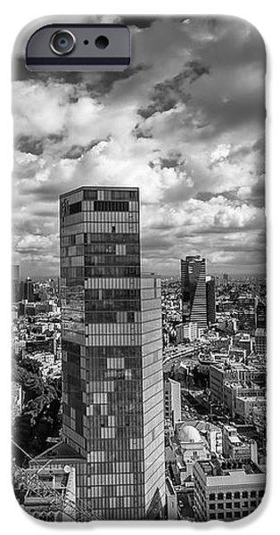 Tel Aviv high and above iPhone Case by Ron Shoshani