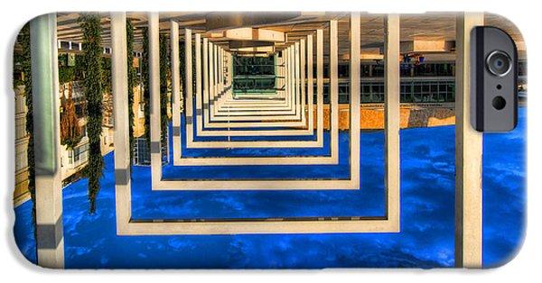 Surrealism Digital Art iPhone Cases - Tel Aviv jump iPhone Case by Ron Shoshani