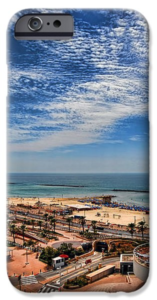 Tel Aviv summer time iPhone Case by Ron Shoshani