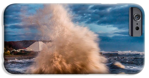Wintertime iPhone Cases - Tempest iPhone Case by Cliff Miller