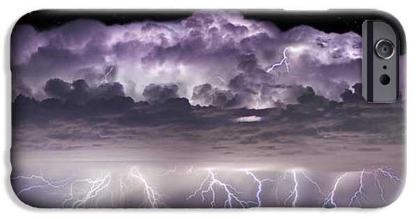 Storm Photographs iPhone Cases - Tempest - CraigBill.com - Open Edition iPhone Case by Craig Bill