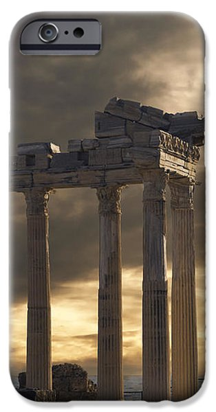Temple of Apollo in Side iPhone Case by Jelena Jovanovic