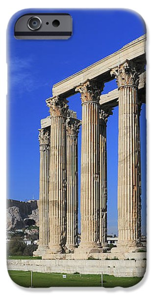 Temple of Olympian Zeus Athens Greece iPhone Case by Ivan Pendjakov