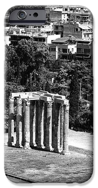 Temple of Zeus II iPhone Case by John Rizzuto