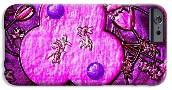 Contemplative Mixed Media iPhone Cases - Temple Sanctum Sanctorum iPhone Case by Pepita Selles