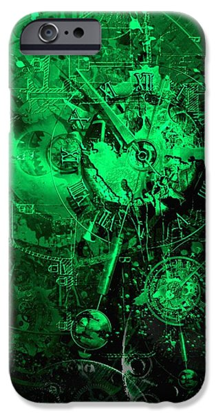 temporal solution iPhone Case by Franziskus Pfleghart