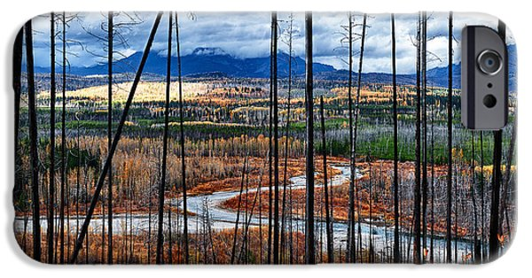 West Fork iPhone Cases - Temporary Vista iPhone Case by Renee Sullivan