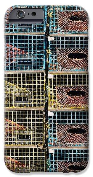 Ten Lobster Traps iPhone Case by Stuart Litoff