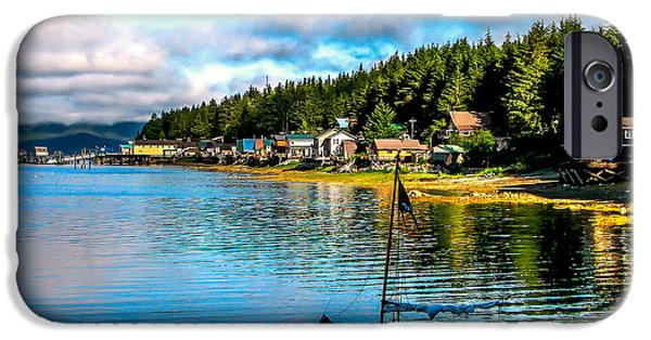 Tongass iPhone Cases - Tenakee Springs iPhone Case by Robert Bales