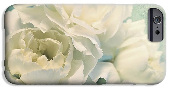Close-up Photographs iPhone Cases - Tenderly iPhone Case by Priska Wettstein