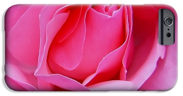 Nature Unfurls iPhone Cases - Tenderness iPhone Case by Kaye Menner