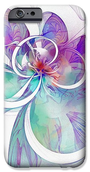 Tendrils 10 iPhone Case by Amanda Moore