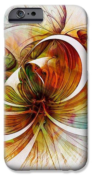 Tendrils 14 iPhone Case by Amanda Moore